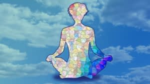 Meditator made of triangles
