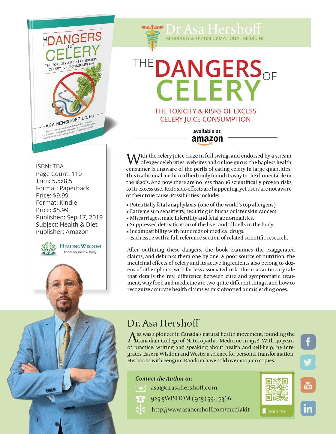 Dangers of Celery-One Sheet